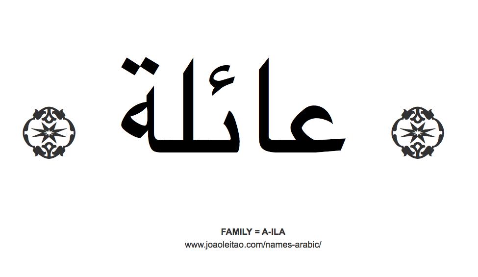 """""""Семья"""" по-арабски"""
