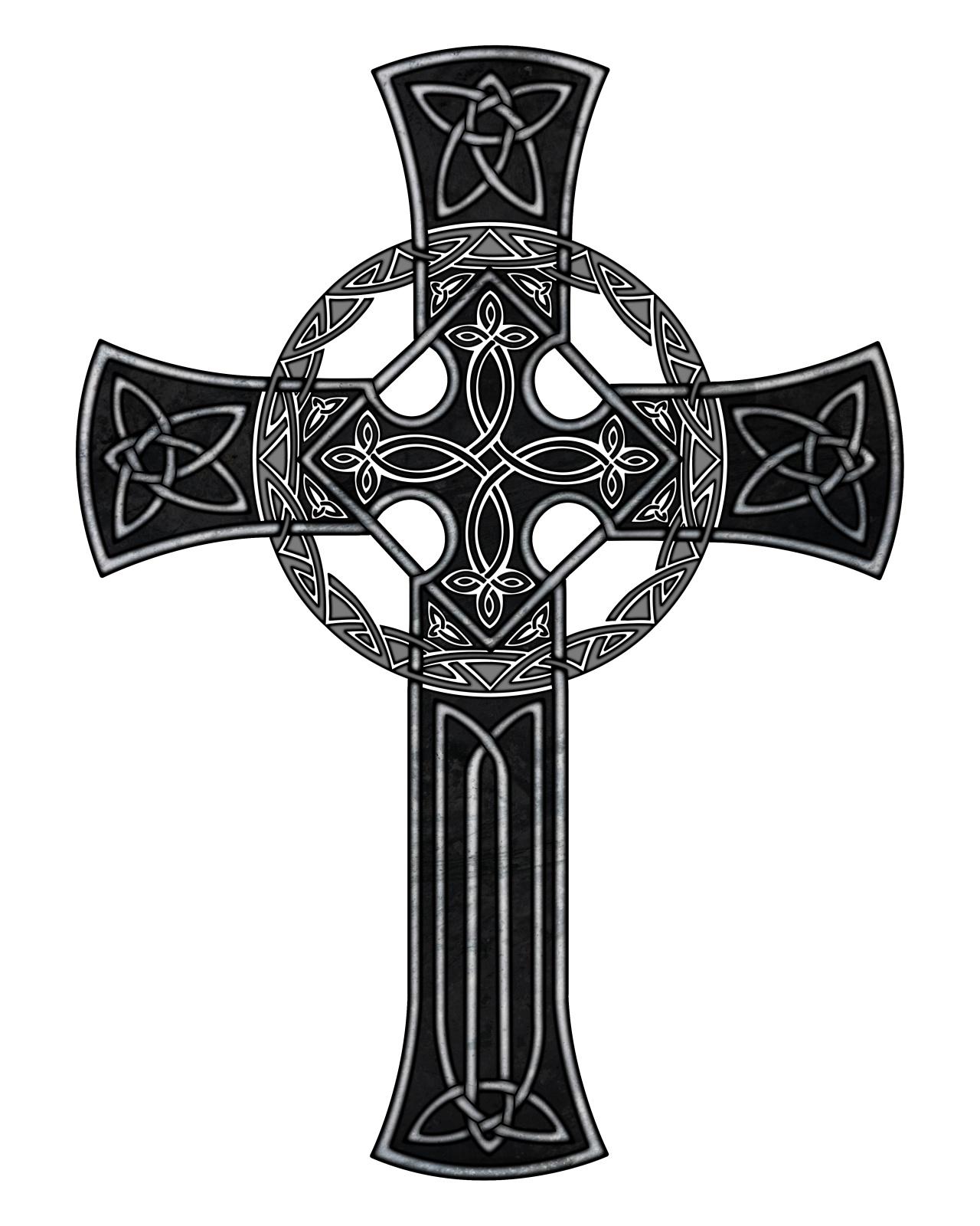 рисунки тату крест